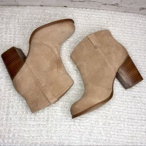 SPLENDID Hila High Suede Above Ankle Bootie